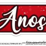 Topo de bolo Papai Noel 3