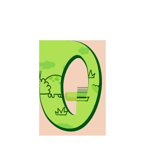 0 Numeros Dinossauro Baby