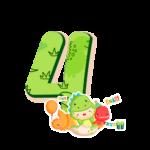 4 Numeros Dinossauro Baby especial