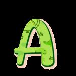 A Alfabeto Dinossauro Baby