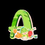 A Letras Dinossauro Baby especial