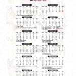 Calendario 2022 Dogs