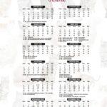 Calendario 2022 Gatos