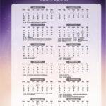 Calendario 2022 Signos