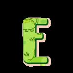 E Alfabeto Dinossauro Baby