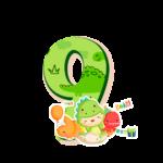 Numeros Dinossauro Baby especial