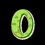 O Letras Dinossauro Baby