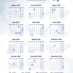 Planner Professor Borboletas Azuis Calendario Professor 2