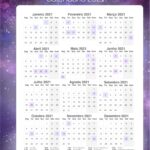 Planner Professor Galaxia Lilas Calendario Professor