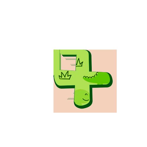 simbolo maisDinossauro Baby