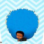 Adesivo Balde de Pipoca Kit Festa Poderoso Chefinho Afro