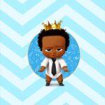 Adesivo Para Imprimir Poderoso Chefinho Afro