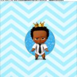 Adesivo Poderoso Chefinho Afro
