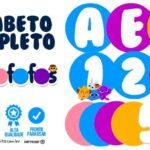 Alfabeto Bolofofos Letras e Numeros para Imprimir
