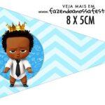 Bandeirinha Sanduiche para imprimir Poderoso Chefinho Afro