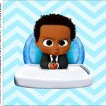 Caixa Acrilico 5x5 Poderoso Chefinho Afro