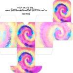 Caixa Baleiro Tie Dye