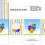 Caixa Kit Colorir Bolofofos