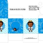 Caixa Kit Colorir Poderoso Chefinho Afro