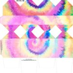 Caixa Meia Bala Tie Dye