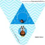 Caixa Piramide Personalizada Poderoso Chefinho Afro