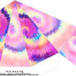 Caixa Piramide Tie Dye