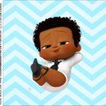 Caixinha Acrilico Poderoso Chefinho Afro