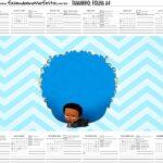 Calendario Personalizado 2020 Poderoso Chefinho Afro