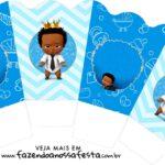 Chachepot centro de mesa Poderoso Chefinho Afro