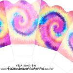 Chachepot centro de mesa Tie Dye