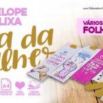 Envelope Mini Lixa Dia da Mulher