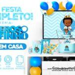Kit Festa Poderoso Chefinho Afro gratis