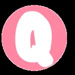 Letras Bolofofos Q