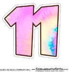 Numero 11 Tie Dye
