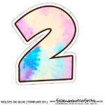 Numero 2 Tie Dye