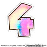 Numero 4 Tie Dye