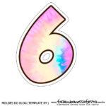 Numero 6 Tie Dye