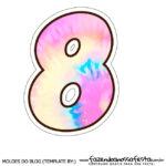Numero 8 Tie Dye