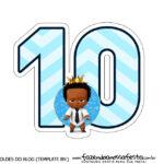 Numeros Poderoso Chefinho Afro 10