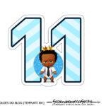 Numeros Poderoso Chefinho Afro 11