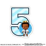 Numeros Poderoso Chefinho Afro 5