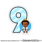 Numeros Poderoso Chefinho Afro 9