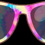 Oculos Tie Dye