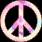 Paz e Amor Tie Dye
