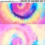Rotulo Saquinho de Bala Tie Dye