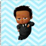 Rotulo para Caixa de Acrilico Poderoso Chefinho Afro