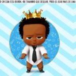 Saia Lateral de Bolo Poderoso Chefinho Afro