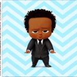 rotulo adesivo caixa de acrilico Poderoso Chefinho Afro