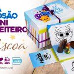 Caixa Explosao Kit Mini Confeiteiro Bolofofos