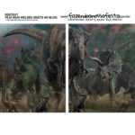 Caixa Explosao Mini Confeiteiro Dinossauro parte 3